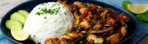 Thai ételek