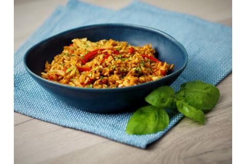 Zöldséges sült rizs - köret