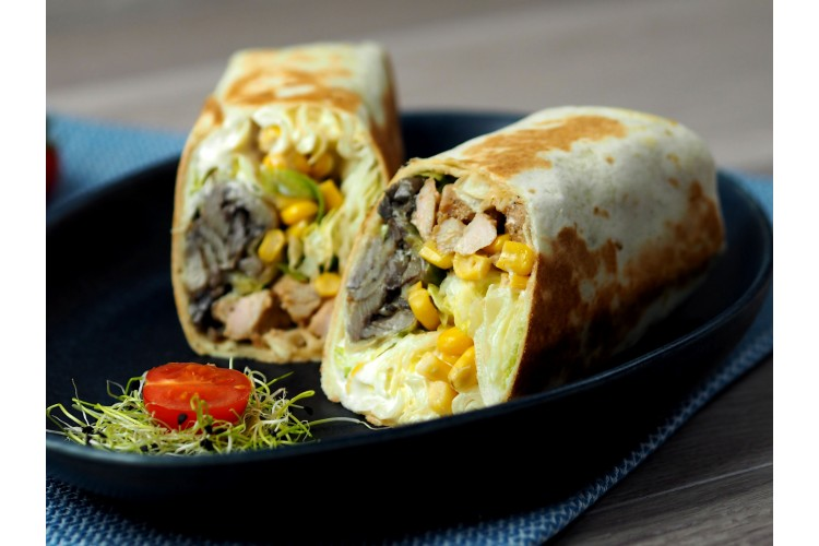 Grill wrap